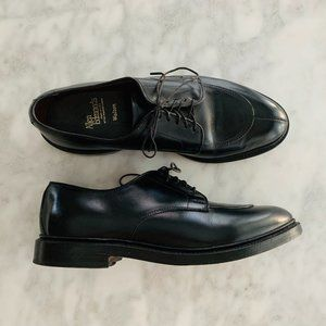 Allen Edmonds Walton Black 8.5 D Lace-Up Oxford